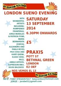 13 September 2014 poster