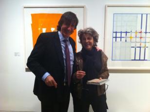 Adam Feinstein with Julie Christie