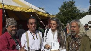 John Cuevas, Osvaldo Torres, Silvia Balducci, Gerado Osal