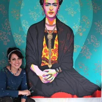 Gisella Stapleton Peruvian Street Artist