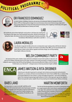 10 - POLITICAL PROGRAMME